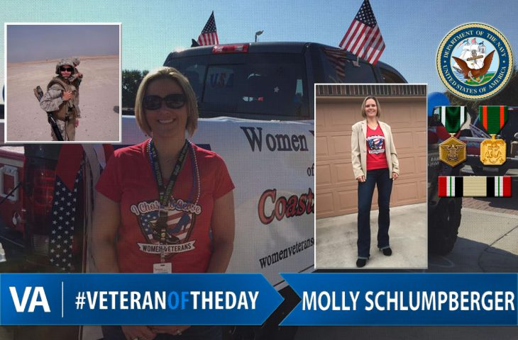 #VeteranOfTheDay Navy Veteran Molly Schlumpberger