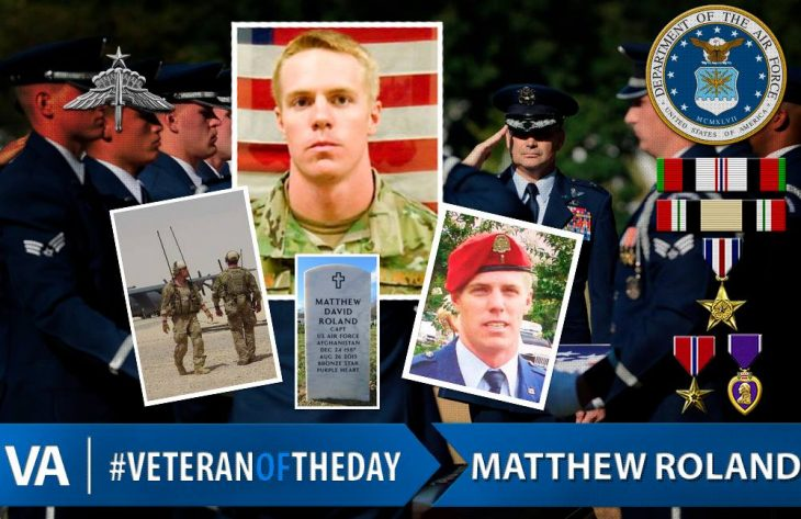 Veteran of the Day Matthew Roland