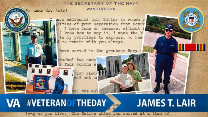 #VeteranOfTheDay Navy Veteran James Lair