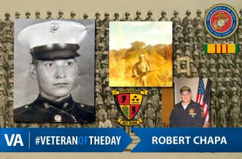 #VeteranOfTheDay Robert Chapa