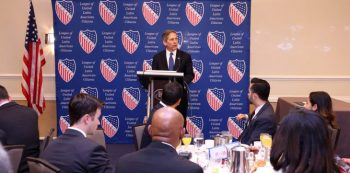 Image of VA LULAC signing partnership agreement