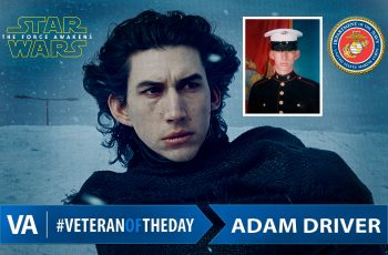 Veteran of the Day Adam Driver