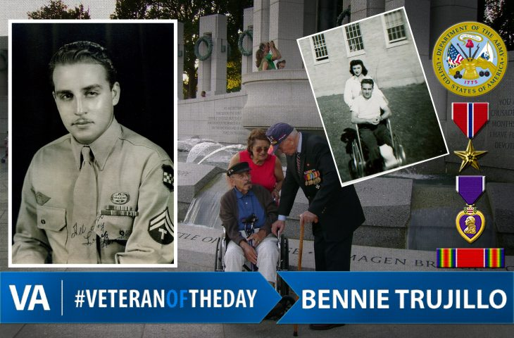 Veteran of the day Bennie Trujillo