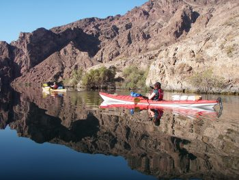 Image of a Kayak at the Black Canyon Trail