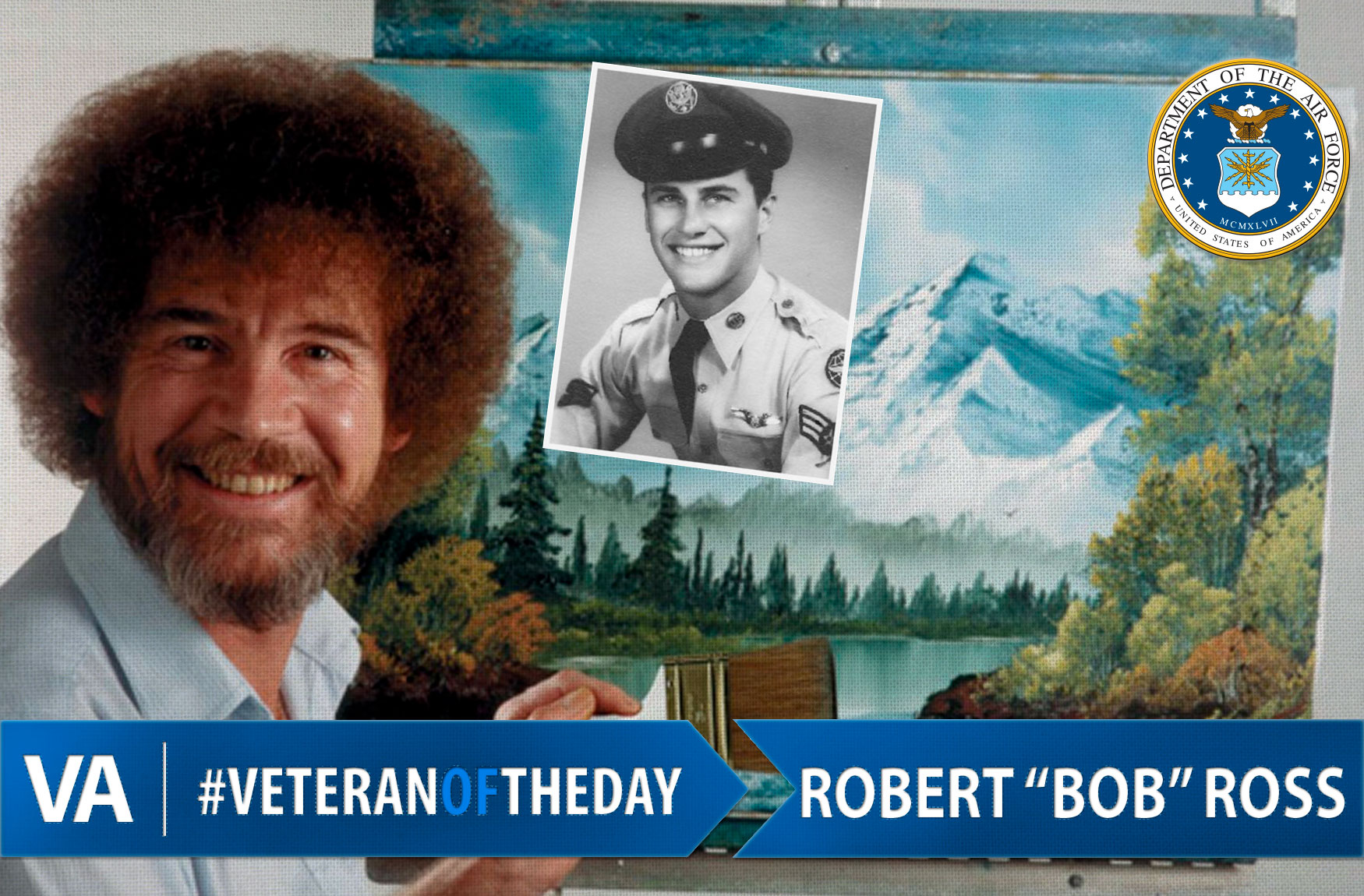 VeteranOfTheDay Air Force Veteran Bob Ross - VAntage Point