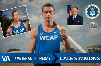 Veteran Of The Day Cale Simmons