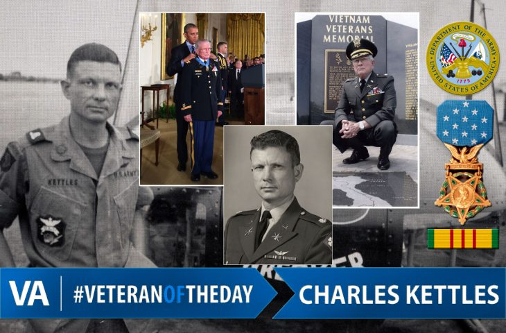 Veteran of the day Charles Kettles