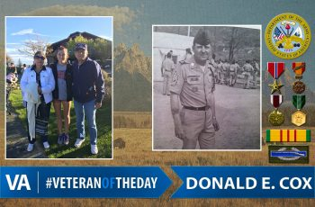 Veteran of the day Donald Cox