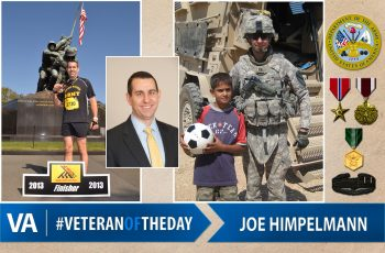 Veteran of the day Joe Himpelmann