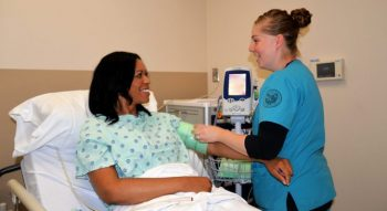 Image of an Intermediate Care Technician providing emergency care