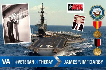 Veteran of the day James Darby