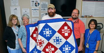 Image of a Quilt of Valor