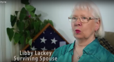 Screen capture of surviving spouse from VBA pension video