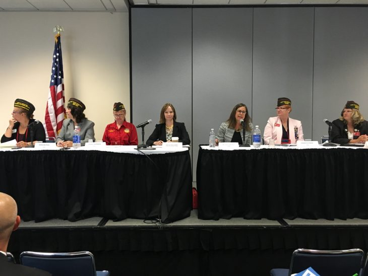 image of panel discussion at VFW National Convention