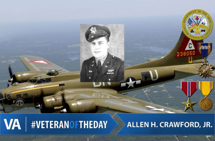 #VeteranOfTheDay Army Veteran Allen Hugh Crawford, Jr.