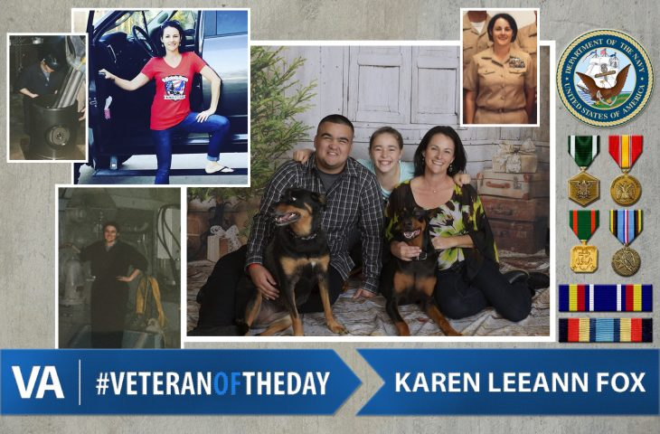 #VeteranOfTheDay Navy Veteran Karen LeeAnn Fox