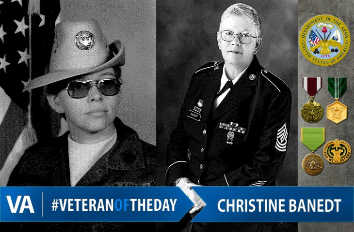 Veteran of the day Christine Banedt
