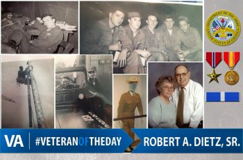 Veteran of the day Robert Dietz Sr