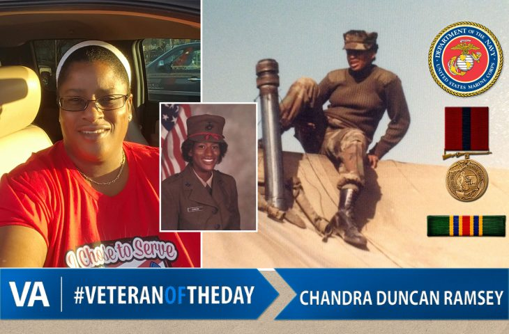 Veteran of the day Chandra Duncan Ramsey
