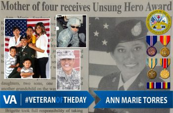 Veteran of the day Anna Marie Torres