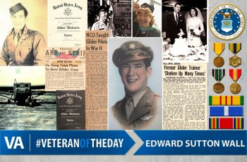 Veteran of the day Edward Sutton Wall