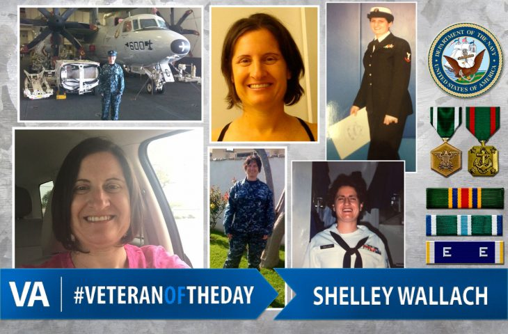 #VeteranOfTheDay Navy Veteran Shelley Wallach