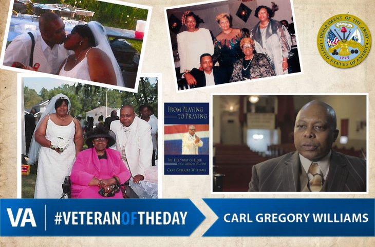 #VeteranOfTheDay Army Veteran Carl Gregory Williams