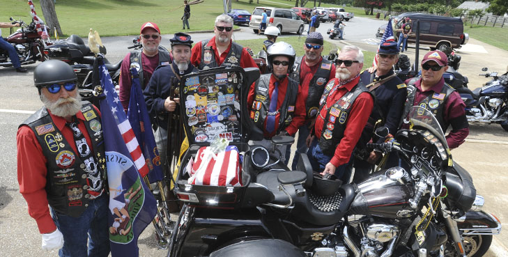 A Civil War Veteran goes home via cross-country motorcycle ride