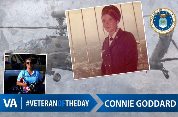 #VeteranOfTheDay Air Force Veteran Connie Goddard