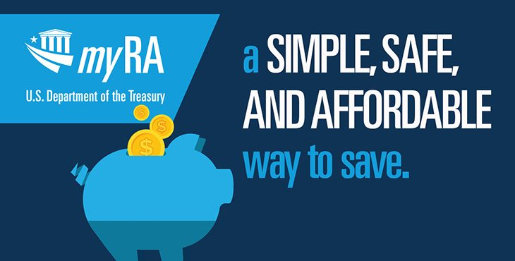 Veterans and Servicemembers can start saving for retirement today with myRA
