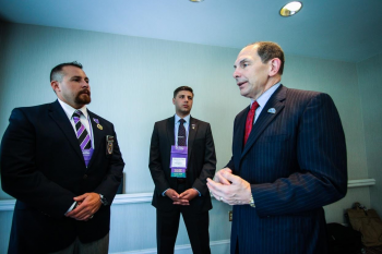McDonald at Military Order of the Purple Heart convention