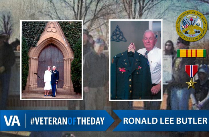 #VeteranOfTheDay Army Veteran Ronald Lee Butler