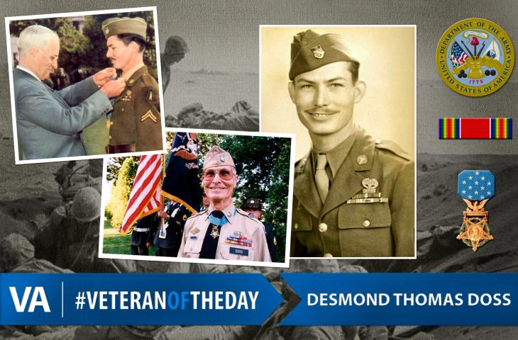 Veteran of the Day Desmond Doss