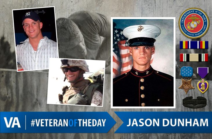 Veteran of the Day Jason Dunham