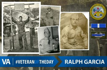 Veteran of the Day Ralph Garcia
