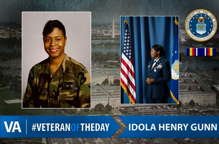 #VeteranOfTheDay Air Force Veteran Idola Henry Gunn