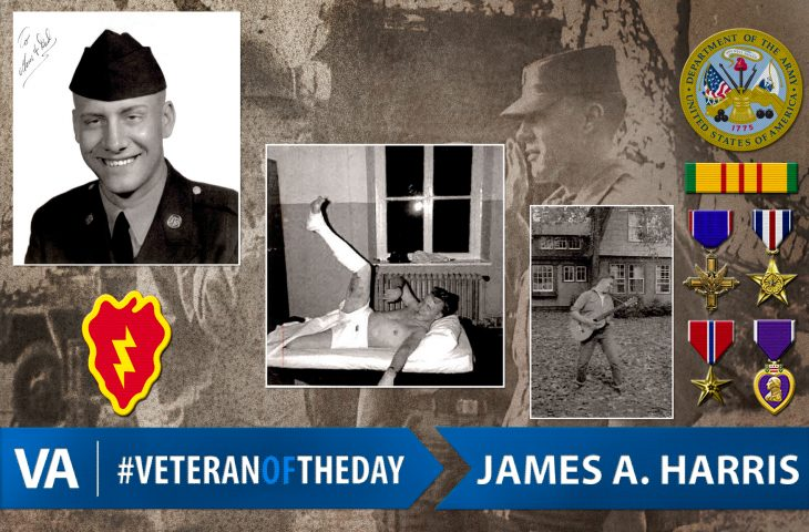 #VeteranOfTheDay Army Veteran James A. Harris
