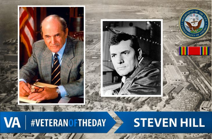 #VeteranOfTheDay Navy Veteran Steven Hill
