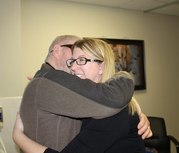Image of Cline huggin one of his providers