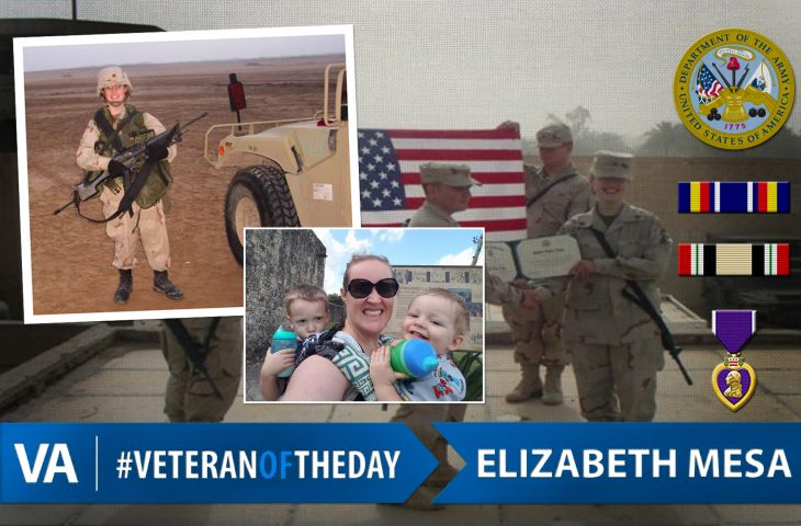 Veteran of the Day Elizabeth Mesa