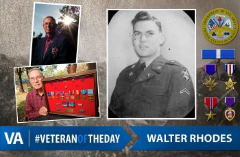 Veteran of the Day Walter Rhodes