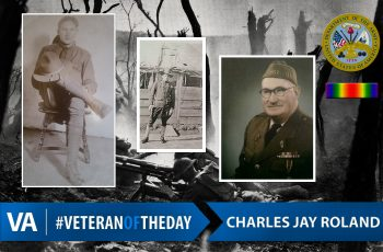 Veteran of the Day Charles Jay Roland
