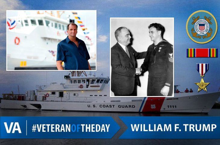 #VeteranOfTheDay Coast Guard Veteran William F. Trump