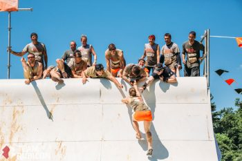 Tough Mudder Long Island; Photo credit Jeremy Hinen, Team Rubicon