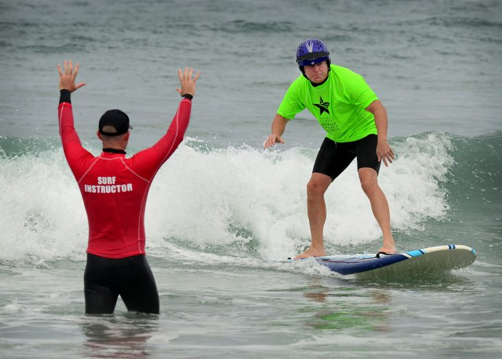 Rehabilitative power of adaptive sports on display at Veterans' event in San Diego