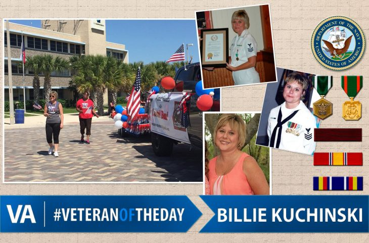 Navy Veteran Billie Kuchinski - Veteran of the Day