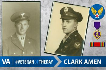 Clark Amen - Veteran of the Day