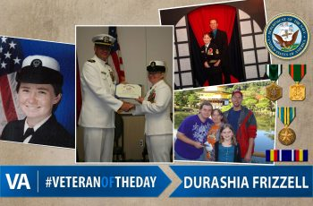 Durashia Frizzell - Veteran of the Day
