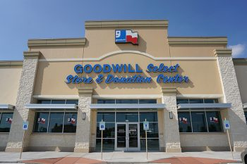 Image of a Houton, Texas Goodwill store