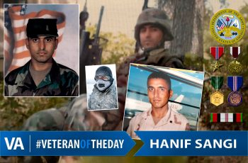 Hanif Sangi - Veteran of the Day
